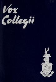 Trafalgar Castle School - Yearbook (Whitby, Ontario Canada) online yearbook collection, 1946 Edition, Page 1