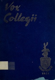 Trafalgar Castle School - Yearbook (Whitby, Ontario Canada) online yearbook collection, 1951 Edition, Page 1