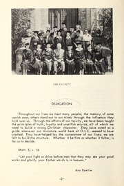 Page 4, 1954 Edition, Trafalgar Castle School - Yearbook (Whitby, Ontario Canada) online yearbook collection