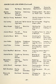 Page 41, 1954 Edition, Trafalgar Castle School - Yearbook (Whitby, Ontario Canada) online yearbook collection