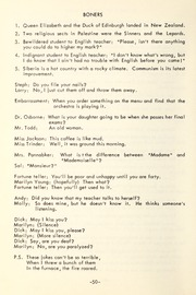 Page 52, 1954 Edition, Trafalgar Castle School - Yearbook (Whitby, Ontario Canada) online yearbook collection