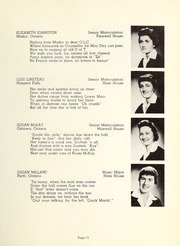 Page 15, 1958 Edition, Trafalgar Castle School - Yearbook (Whitby, Ontario Canada) online yearbook collection