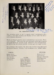 Page 43, 1962 Edition, Trafalgar Castle School - Yearbook (Whitby, Ontario Canada) online yearbook collection
