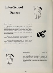 Page 50, 1962 Edition, Trafalgar Castle School - Yearbook (Whitby, Ontario Canada) online yearbook collection