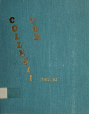 Page 1, 1963 Edition, Trafalgar Castle School - Yearbook (Whitby, Ontario Canada) online yearbook collection