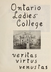 Page 5, 1963 Edition, Trafalgar Castle School - Yearbook (Whitby, Ontario Canada) online yearbook collection
