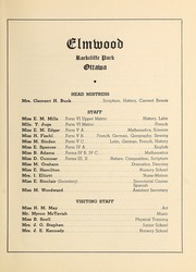 Page 7, 1942 Edition, Elmwood School - Samara Yearbook (Ottawa, Ontario Canada) online yearbook collection