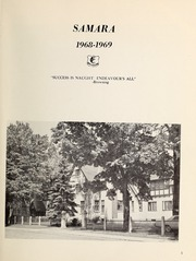 Page 3, 1969 Edition, Elmwood School - Samara Yearbook (Ottawa, Ontario Canada) online yearbook collection