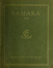 Page 1, 1970 Edition, Elmwood School - Samara Yearbook (Ottawa, Ontario Canada) online yearbook collection