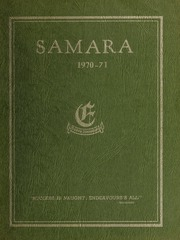Elmwood School - Samara Yearbook (Ottawa, Ontario Canada) online yearbook collection, 1971 Edition, Page 1