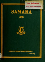 Elmwood School - Samara Yearbook (Ottawa, Ontario Canada) online yearbook collection, 1972 Edition, Page 1