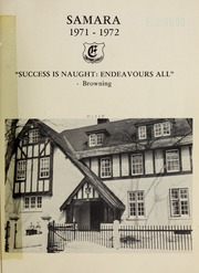 Page 3, 1972 Edition, Elmwood School - Samara Yearbook (Ottawa, Ontario Canada) online yearbook collection
