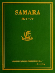 Elmwood School - Samara Yearbook (Ottawa, Ontario Canada) online yearbook collection, 1975 Edition, Page 1