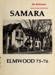 Elmwood School - Samara Yearbook (Ottawa, Ontario Canada) online yearbook collection, 1976 Edition, Page 1