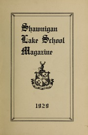Page 1, 1929 Edition, Shawnigan Lake School - Yearbook (Shawnigan Lake, British Columbia Canada) online yearbook collection