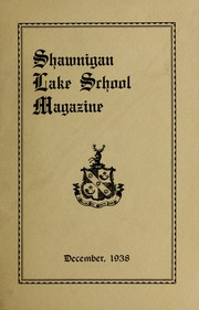 Page 1, 1938 Edition, Shawnigan Lake School - Yearbook (Shawnigan Lake, British Columbia Canada) online yearbook collection