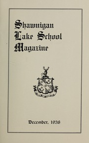 Page 5, 1938 Edition, Shawnigan Lake School - Yearbook (Shawnigan Lake, British Columbia Canada) online yearbook collection