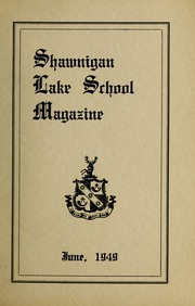 Page 1, 1949 Edition, Shawnigan Lake School - Yearbook (Shawnigan Lake, British Columbia Canada) online yearbook collection