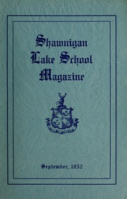 Page 1, 1952 Edition, Shawnigan Lake School - Yearbook (Shawnigan Lake, British Columbia Canada) online yearbook collection