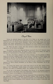 Page 10, 1952 Edition, Shawnigan Lake School - Yearbook (Shawnigan Lake, British Columbia Canada) online yearbook collection