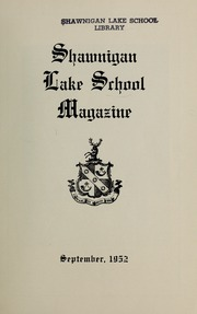 Page 3, 1952 Edition, Shawnigan Lake School - Yearbook (Shawnigan Lake, British Columbia Canada) online yearbook collection
