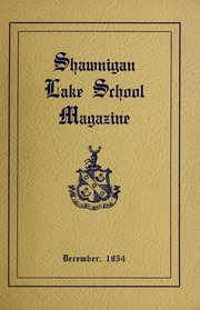 Page 1, 1954 Edition, Shawnigan Lake School - Yearbook (Shawnigan Lake, British Columbia Canada) online yearbook collection
