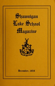 Page 1, 1958 Edition, Shawnigan Lake School - Yearbook (Shawnigan Lake, British Columbia Canada) online yearbook collection