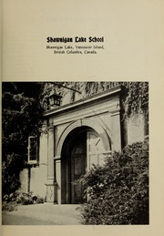 Page 3, 1962 Edition, Shawnigan Lake School - Yearbook (Shawnigan Lake, British Columbia Canada) online yearbook collection