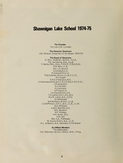 Page 10, 1975 Edition, Shawnigan Lake School - Yearbook (Shawnigan Lake, British Columbia Canada) online yearbook collection