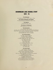 Page 11, 1975 Edition, Shawnigan Lake School - Yearbook (Shawnigan Lake, British Columbia Canada) online yearbook collection