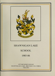 Page 5, 1986 Edition, Shawnigan Lake School - Yearbook (Shawnigan Lake, British Columbia Canada) online yearbook collection