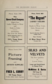 Page 13, 1923 Edition, Branksome Hall - Slogan Yearbook (Toronto, Ontario Canada) online yearbook collection