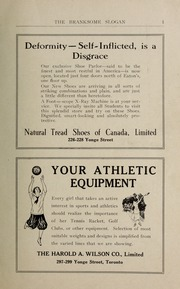 Page 3, 1923 Edition, Branksome Hall - Slogan Yearbook (Toronto, Ontario Canada) online yearbook collection