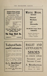 Page 5, 1923 Edition, Branksome Hall - Slogan Yearbook (Toronto, Ontario Canada) online yearbook collection