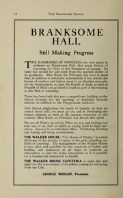 Page 16, 1931 Edition, Branksome Hall - Slogan Yearbook (Toronto, Ontario Canada) online yearbook collection