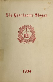 Page 1, 1934 Edition, Branksome Hall - Slogan Yearbook (Toronto, Ontario Canada) online yearbook collection