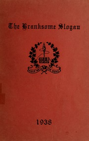 Page 1, 1938 Edition, Branksome Hall - Slogan Yearbook (Toronto, Ontario Canada) online yearbook collection