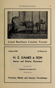 Page 13, 1938 Edition, Branksome Hall - Slogan Yearbook (Toronto, Ontario Canada) online yearbook collection