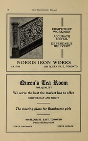 Page 16, 1938 Edition, Branksome Hall - Slogan Yearbook (Toronto, Ontario Canada) online yearbook collection