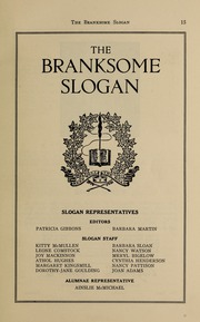 Page 17, 1938 Edition, Branksome Hall - Slogan Yearbook (Toronto, Ontario Canada) online yearbook collection