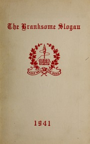 Page 1, 1941 Edition, Branksome Hall - Slogan Yearbook (Toronto, Ontario Canada) online yearbook collection