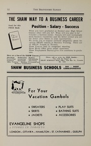 Page 14, 1941 Edition, Branksome Hall - Slogan Yearbook (Toronto, Ontario Canada) online yearbook collection