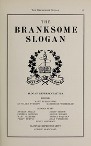 Page 17, 1941 Edition, Branksome Hall - Slogan Yearbook (Toronto, Ontario Canada) online yearbook collection