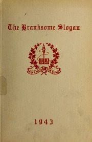Page 1, 1943 Edition, Branksome Hall - Slogan Yearbook (Toronto, Ontario Canada) online yearbook collection