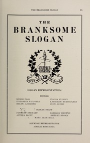 Page 17, 1943 Edition, Branksome Hall - Slogan Yearbook (Toronto, Ontario Canada) online yearbook collection