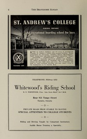 Page 8, 1943 Edition, Branksome Hall - Slogan Yearbook (Toronto, Ontario Canada) online yearbook collection
