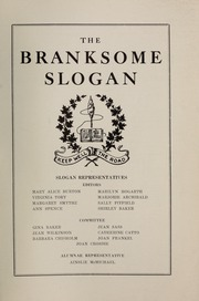 Page 3, 1945 Edition, Branksome Hall - Slogan Yearbook (Toronto, Ontario Canada) online yearbook collection