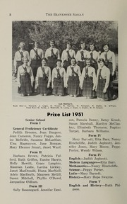 Page 10, 1952 Edition, Branksome Hall - Slogan Yearbook (Toronto, Ontario Canada) online yearbook collection