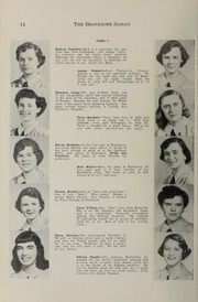 Page 16, 1952 Edition, Branksome Hall - Slogan Yearbook (Toronto, Ontario Canada) online yearbook collection