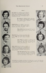 Page 17, 1952 Edition, Branksome Hall - Slogan Yearbook (Toronto, Ontario Canada) online yearbook collection